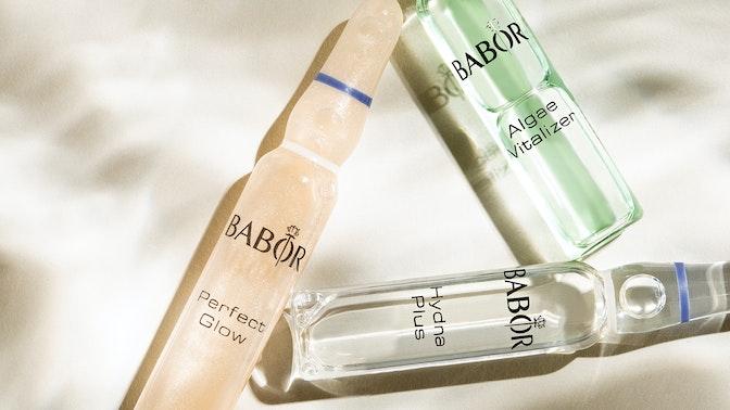 7-Tage-Ampullenkur gegen trockene Haut