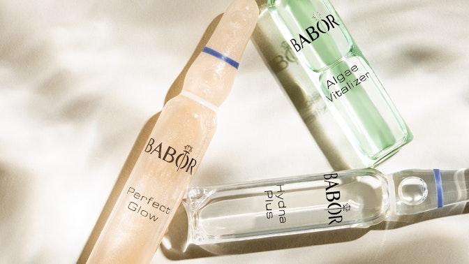 7-daagse ampullenkuur om een droge huid tegen te gaan