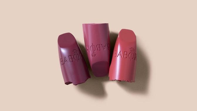 Lippenstift & lipgloss