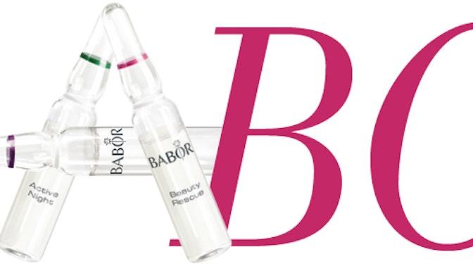 Het BABOR Beauty ABC!